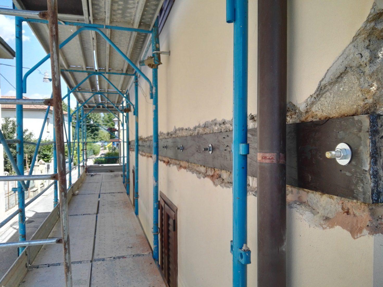 Miglioramento sismico edificio ubicato in Via C. Rosatelli 43, 02100 Rieti