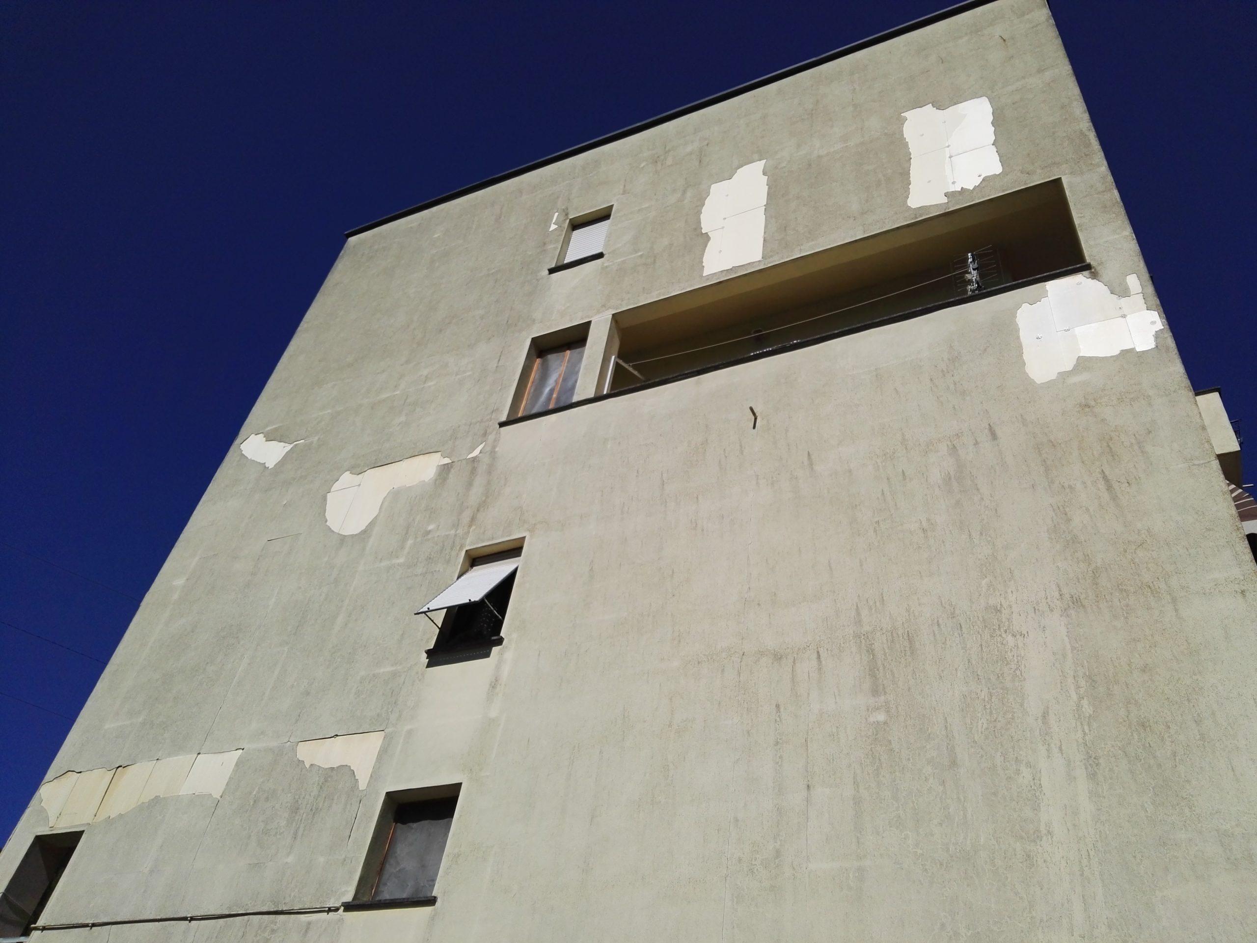 Messa in sicurezza parete sud del condominio Villa Verde, 02100 Rieti