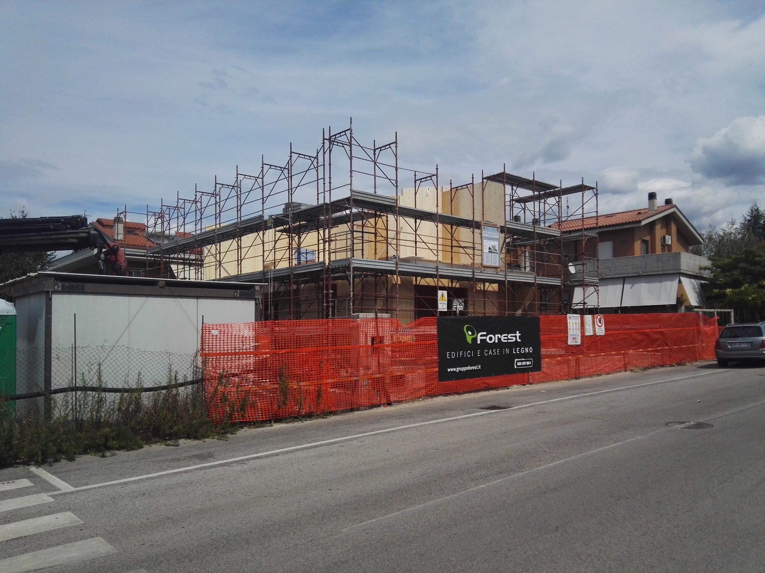Edificio multipiano in Xlam CSE – CSP D.lgs 81/08 e smii